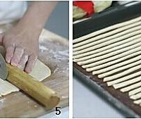 芝士面包棒的做法图解3