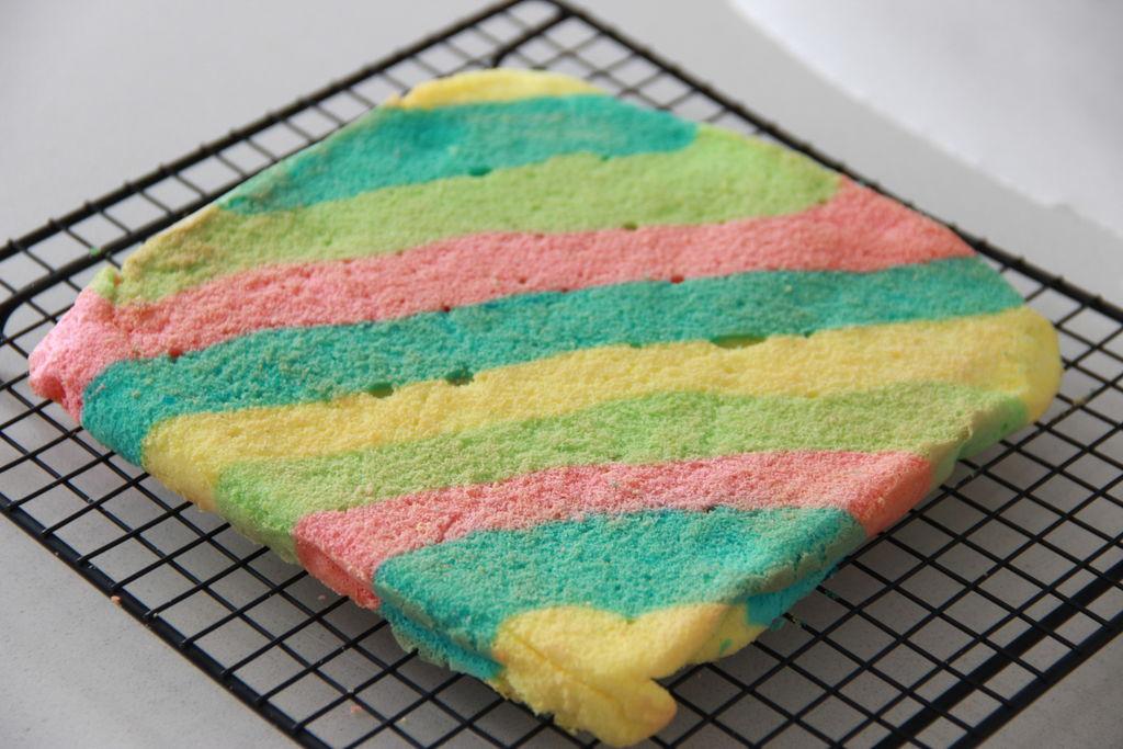 让人心情愉悦的彩虹蛋糕卷(详细步骤)的做法图解16