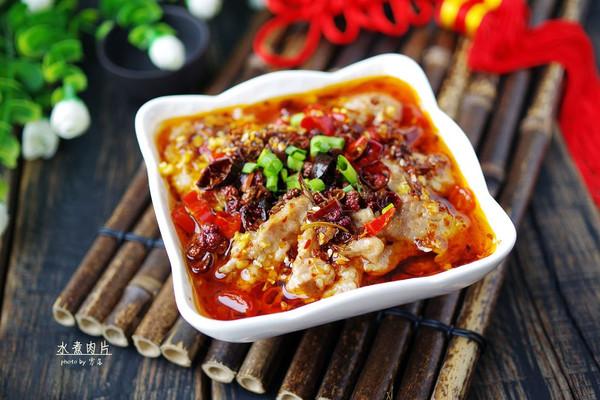 【红红火火】水煮肉片#盛年锦食.忆年味#的做法