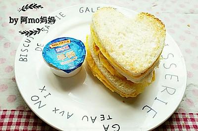 ♡鸡蛋奶酪三明治♡