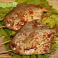 烤猪肉香菇鲳鱼饺子做法的虾仁图片