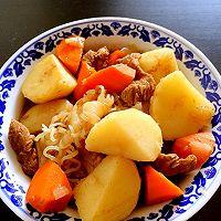 简单料理之土豆炖肉