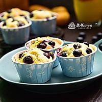 蓝莓麦芬#我的烘焙不将就#