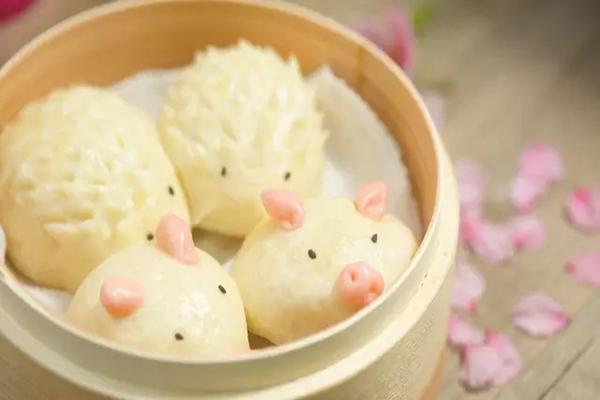 边看边做更方便        小猪包,刺猬包,各种萌萌哒的小动物包子.