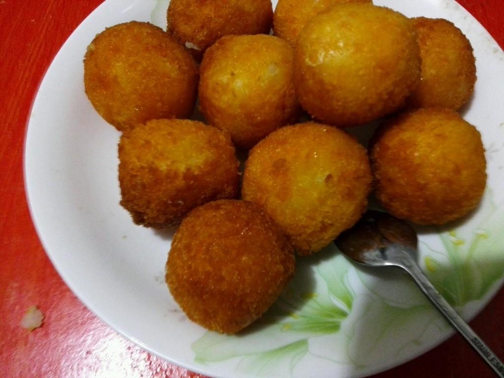 土豆球的做法_【圖解】土豆球怎么做好吃
