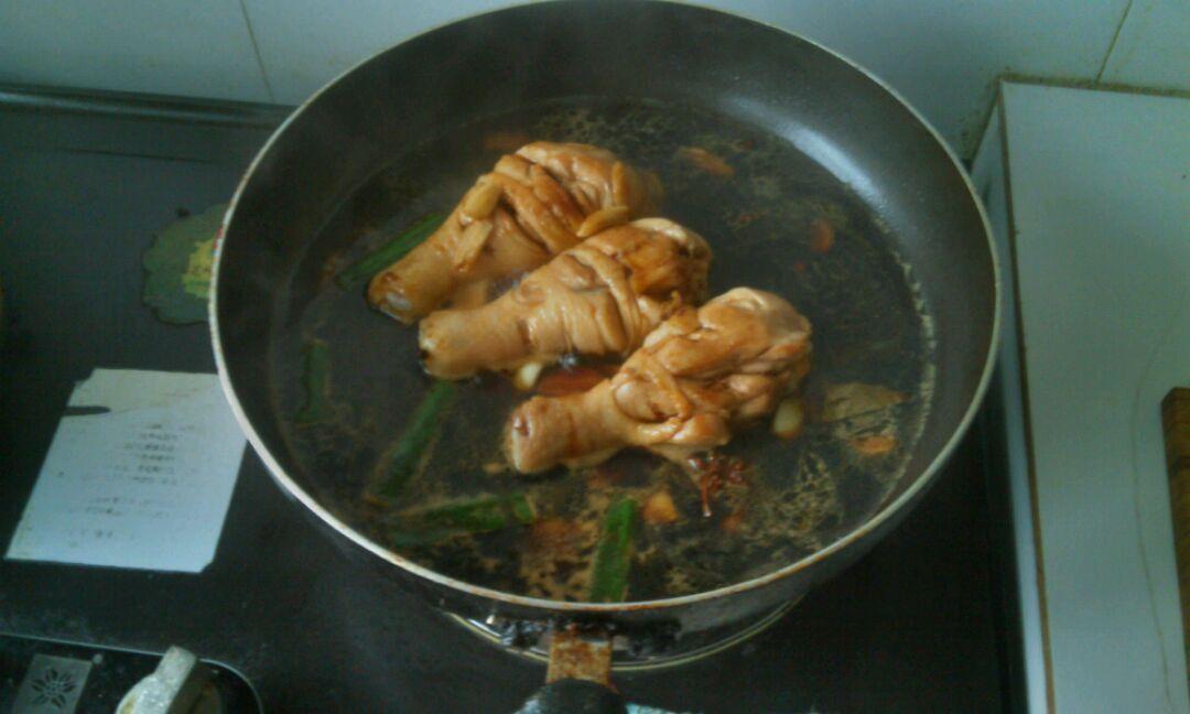 红烧鸡腿-儿童营养餐的做法