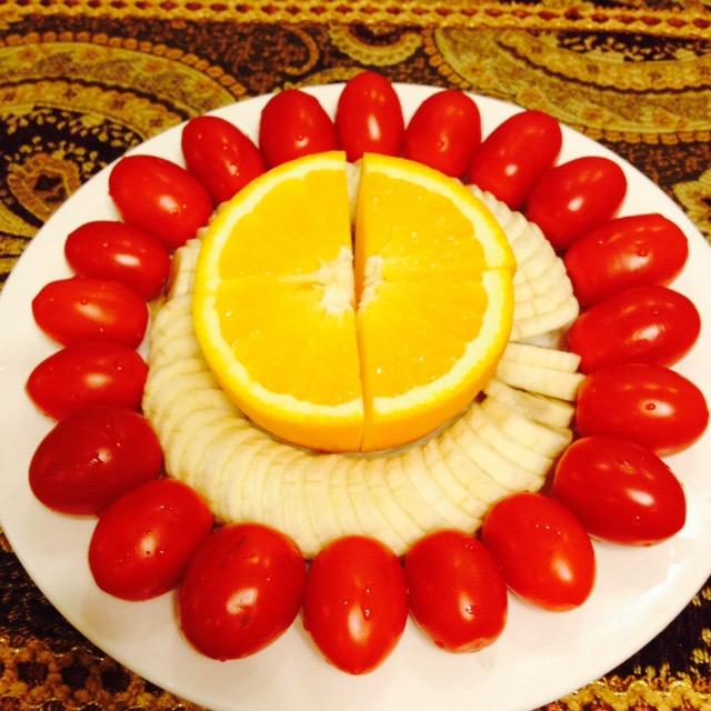 摆放水果背景素材