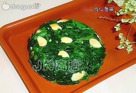 杏仁菠菜的做法