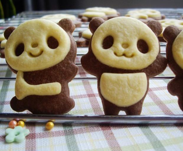 小熊猫饼干 萌呆了~.~