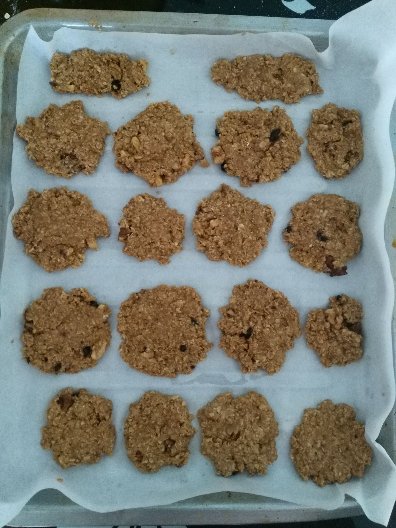 燕麦饼干   减肥小零食的做法步骤