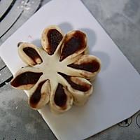 豆沙花朵包的做法图解10