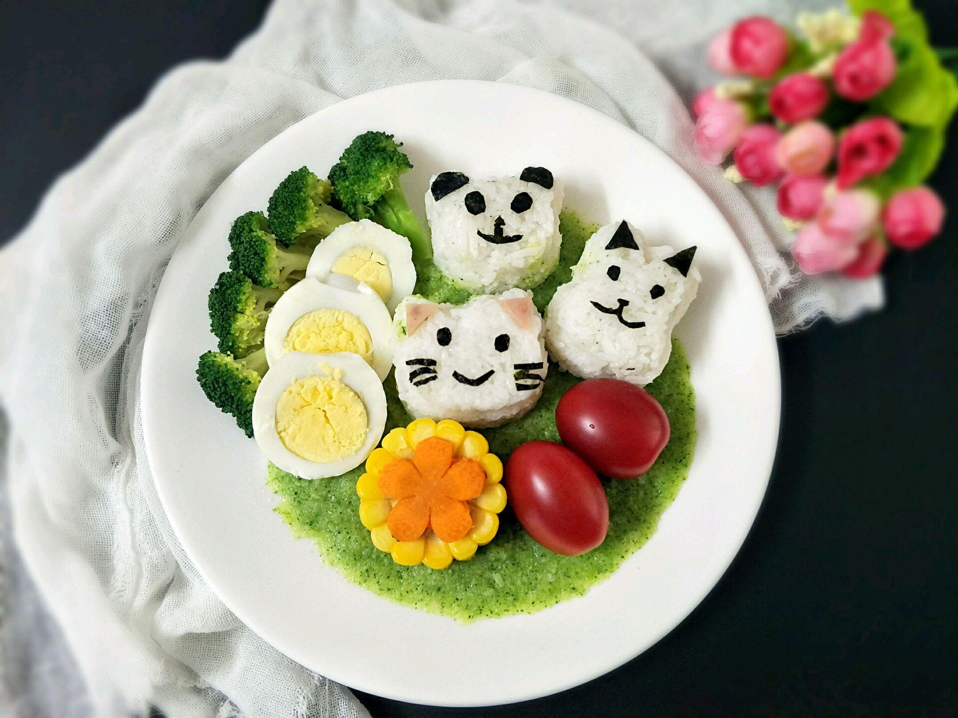 卡通素材 儿童美食