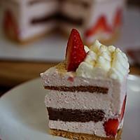 草莓可可慕斯蛋糕的做法图解13