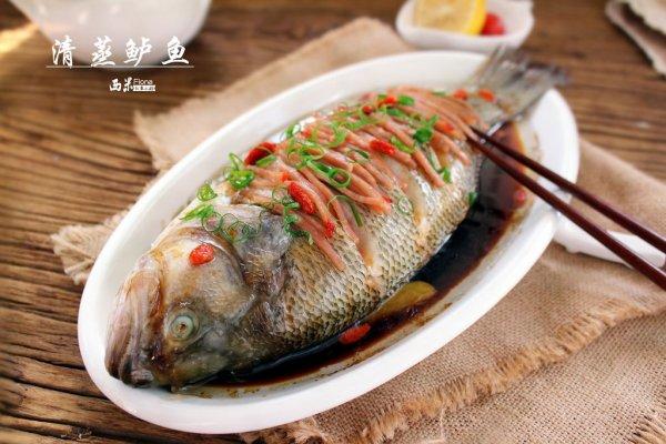 年夜饭_清蒸鲈鱼的做法