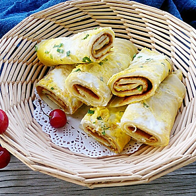 十分钟快手早餐——鸡蛋饼#一机多能,一席饪选#