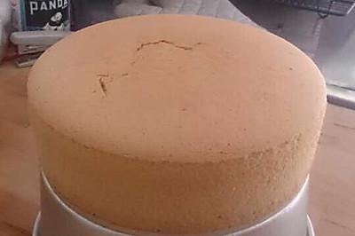 完美6寸海绵蛋糕