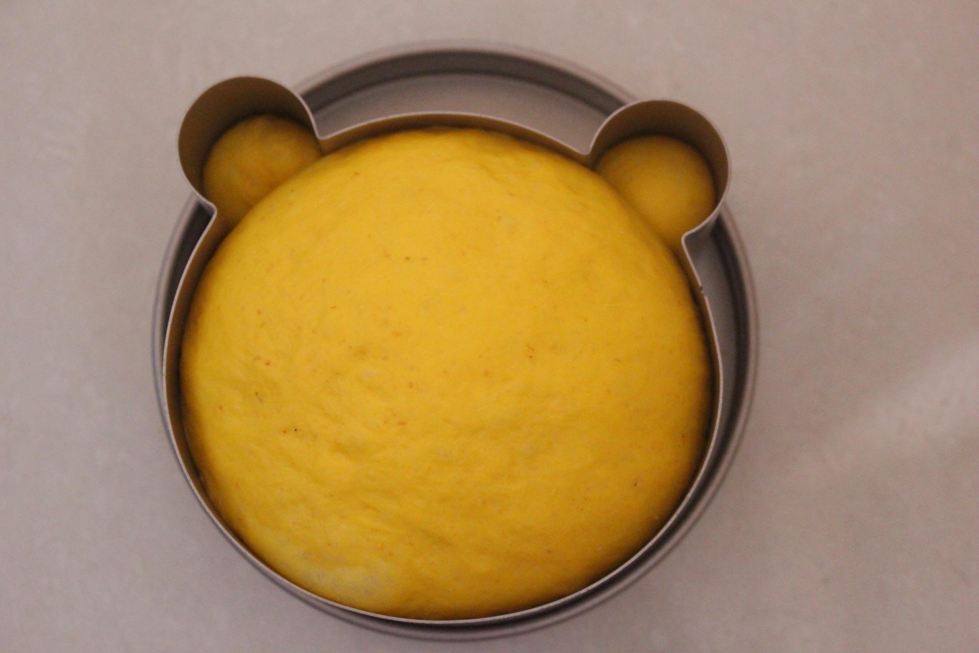南瓜小熊吐司#跨界烤箱 探索味来#的做法图解9