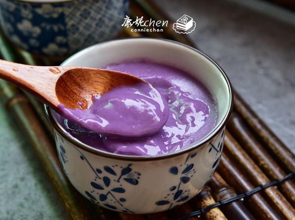 紫薯小麦胚芽燕麦糊