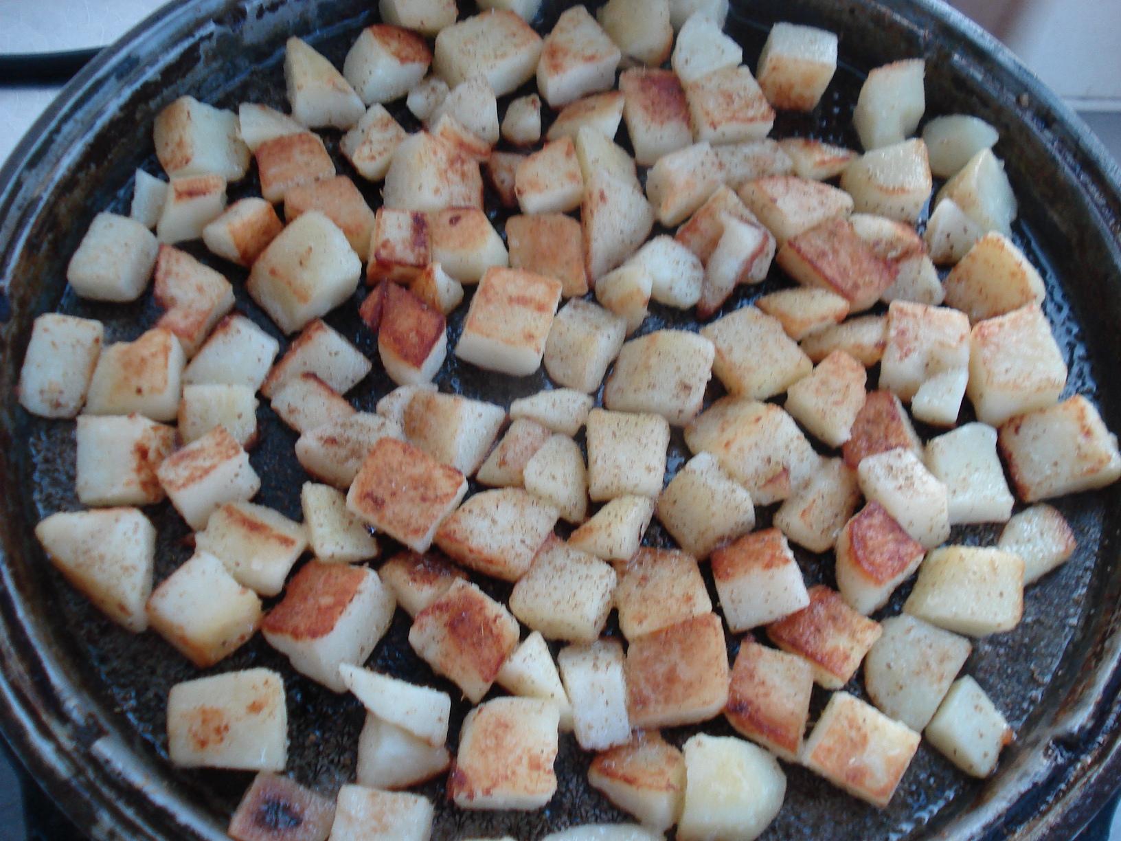电饼铛锅巴土豆的做法图解6