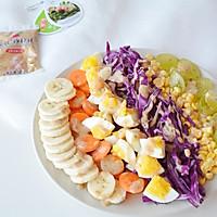 彩虹沙拉+玉米汤
