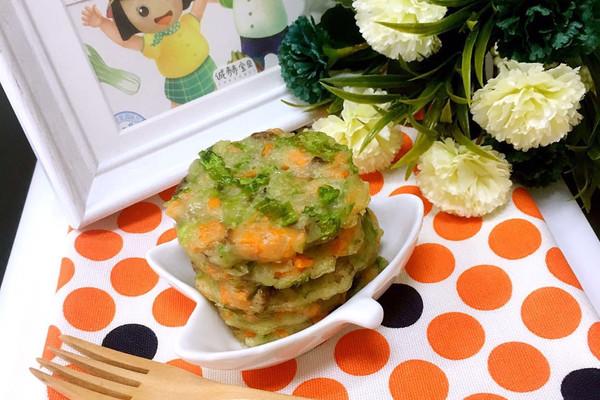 胡萝卜鸡肝饼 10m+(胡萝卜素、铁)的做法
