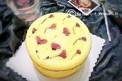 【樱花鲜果祼蛋糕】#豆果5周年#