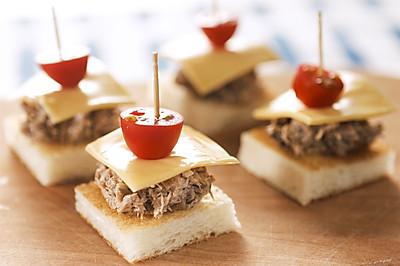 口袋三明治/迷你三明治/卷心菜三明治的做法