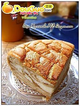 大理石雪仿蛋糕的做法
