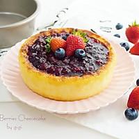 """杂莓芝士蛋糕#享""""美""""味#"""