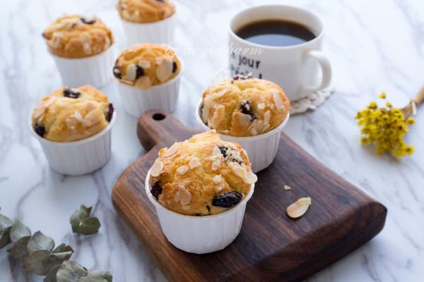 (广东)香气扑鼻的杏仁麦芬muffin