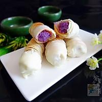 巧克力紫薯酥角#有颜值的实力派#