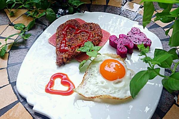 【幸福餐】营养早餐-黎麦荞麦冷饭煎饭团-蜜桃爱营养师私厨的做法