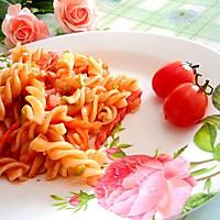 大喜大牛肉粉试用之番茄时蔬意面