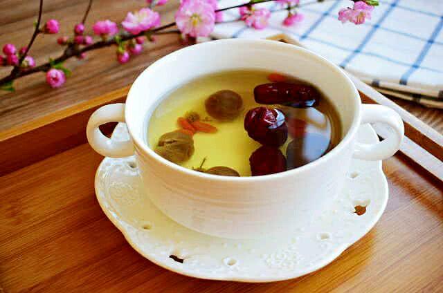 红枣杞菊桂圆茶#美的养生壶#的做法