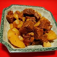 马铃薯烧牛肉