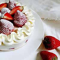 草莓芝士蛋糕—一款经典简单的芝士蛋糕