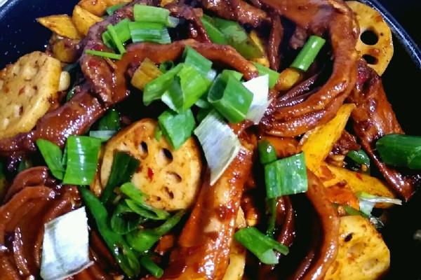 干锅四季食谱鸭掌汤水图片