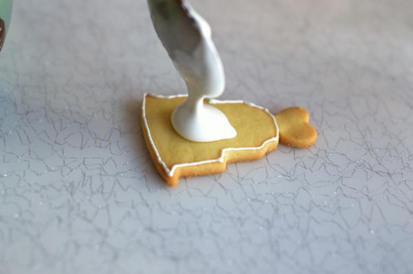 小巧可爱的糖霜饼干