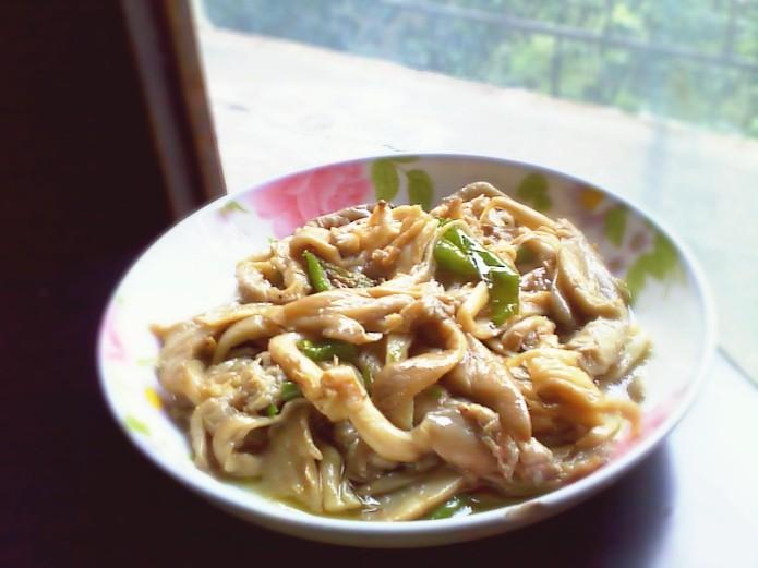 清炒平菇关于菜谱佳肴鸡的图片