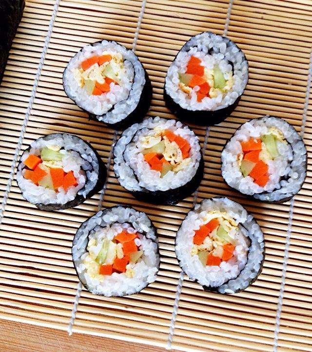 可爱寿司的做法
