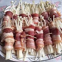 五花肉卷金针菇的做法<!-- 图解3 -->