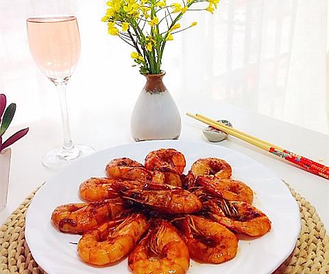 油焖大虾----宴客必备 - 大头安兰 - 大头安兰的博客