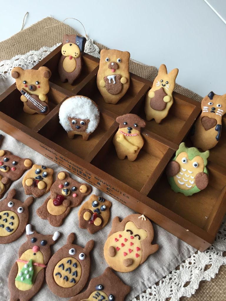 (展开)        可爱卖萌的卡通曲奇饼,看到它你是不是都不忍心吃了呢?