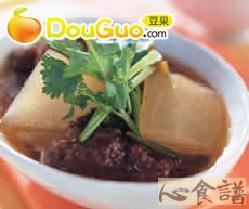 排骨酥冬瓜汤的做法