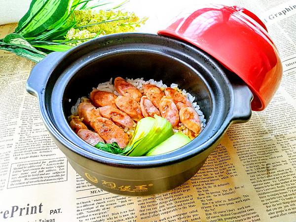香肠砂锅煲仔饭