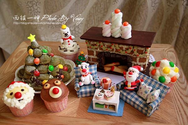 轻黏土制作圣诞老人