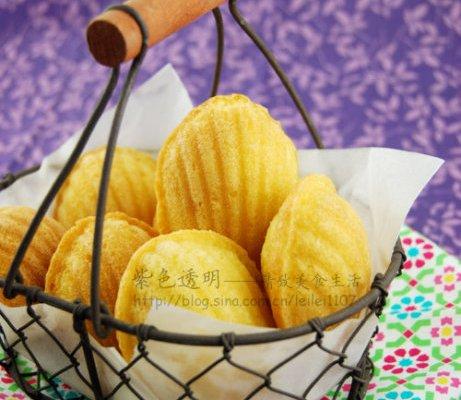 法式小甜点玛德琳蛋糕的做法