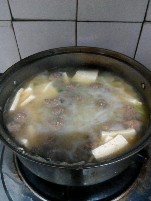 羊肉丸子冬瓜汤的做法图解5