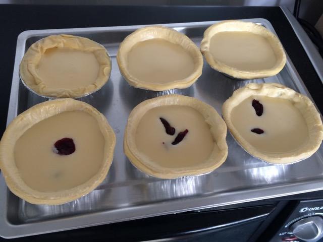 制作蛋挞步骤图简笔画