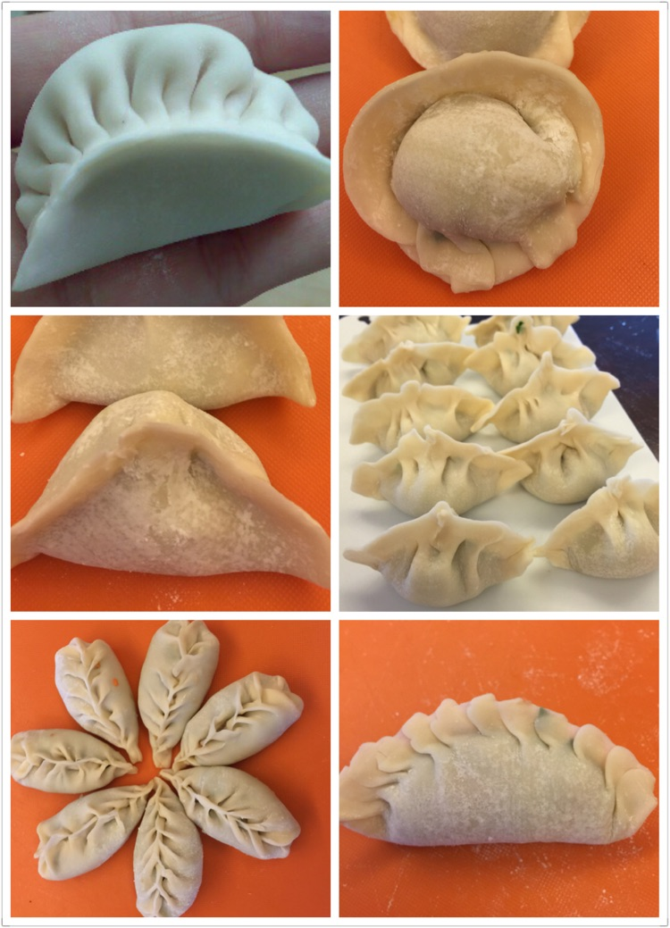 水饺的几种简单包法的做法_【图解】水饺的几种简单包